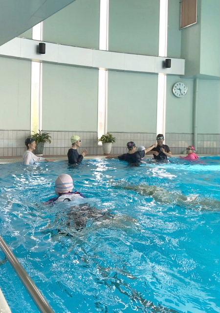 水泳指導 着衣水泳の巻